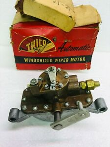 Vintage Trico Air Pressure Wiper Motor Apm 21 21 Nos W Box Ford Truck 1960 S