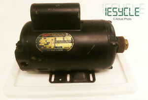 Doerr Electric Motor 2hp 230v 10 5a Copper Wound Removed Off Sears Aircompressor