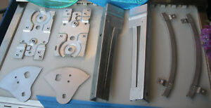 Corvette 1956 1957 1958 1959 1960 1961 1962 Door Channel Power Window Plates