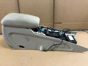 2014 Jeep Grand Cherokee Overland Wk Bucket Seat Center Console Assembly