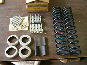 Nos Ford Shock Booster Springs Mustang Cougar Bronco Mercury 1965 1966 1967 1968