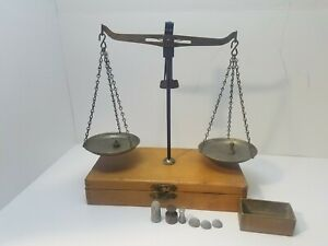 The American Scale Works Vintage Circa Mini Portable Balance Waukegan Illinois