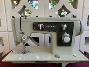 Heavy Duty Industrial Strength Kenmore Sewing Machine all Steel Restored