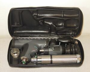 Welch Allyn 3 5v Panoptic Ophthalmoscope Macroview Otoscope Kit 11820 23820
