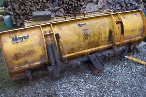 Meyer Ez Express Ag8 Snow Plow Blade 8 Meyers Plow Nr Or For Parts
