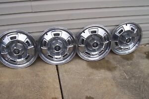 67 68 69 Plymouth 14 Hubcaps Wheel Covers 1967 1968 1969
