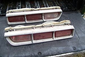 1969 Dodge Coronet Choice L Or R Tail Light Housing Lens