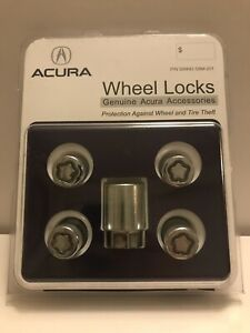 Oem Honda And Acura Wheel Lock Kit Fit All 19mm Pre Owned
