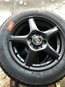 Snow Tire And Wheel Package Firestone Winterforce 2