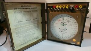 Westinghouse Pi 161 Portable Phase Angle Meter Tester L k
