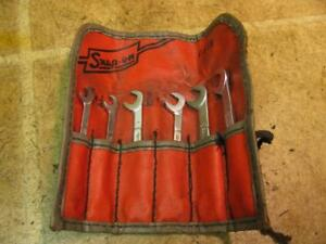 Vintage Snap On Ignition Wrench Set C65d