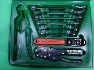 Craftsman 8 Piece 12 Point Combination Box Open End Wrench Set 5 16 5 8 Extra