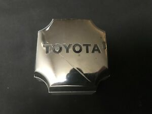 Toyota Supra Celica Oem Wheel Center Cap Chrome Silver Finish 6100 1982 1986