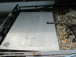 1 Thick Aluminum Plate 6061 t6