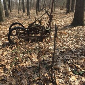 Antique Farm Machinery Two row Planter