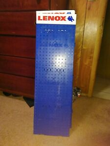 Lenox Brand Pegboard Interlocking System Approx 4 Tall And 1 Wide