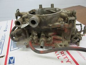 1965 Dodge Plymouth 426 Wedge Automatic Carter Afb Carburetor E5 Date 3860sa Dp