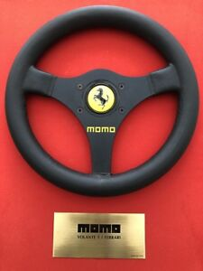 Ferrari Momo F1 Steering Wheel Commemorative Artwork Vintage Ferrari Item