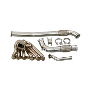 Cxracing Turbo Manifold Kit For 86 91 Mazda Rx7 Fc With 2jz Gte Engine
