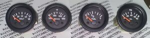Gauges Set 4 Pc Oil Pressure Temperature Volt Fuel Gauge 2 Express