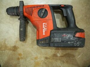 Hilti Te 7 a 36 Li ion Rotary Hammer Drill Sds plus Lithium With Battery