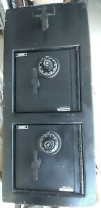 American Security Double Door Rotary Top Drop Double Combination Locks Safe