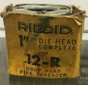 Ridgid 1 Die Head 12 r Drop Head Pipe Threader