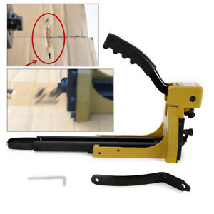Manual Stick Carton Closing Stapler Pneumatic Staple Gun For 1 3 8 Hb3518 16ga