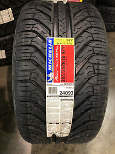 2 New 285 35 18 Michelin Pilot Sport A s Plus Tires