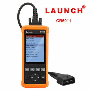 Launch Cr6011 Diagnostic Scan Tool Obdii Fault Code Reader Tool Srs Abs Gm Bmw
