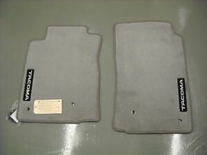 2005 2011 Toyota Tacoma Carpet Floor Mats Regular Cab Gray Pt206 35100 13