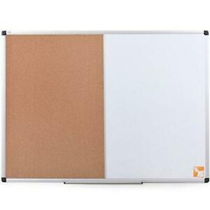 Xboard Magnetic Dry Erase Board Cork 48 X 36 Whiteboard Combination White