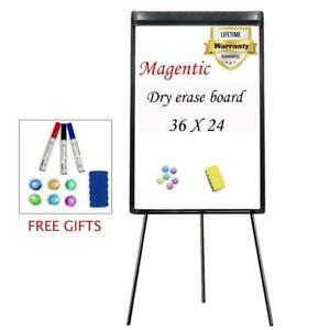 Stand White Board 36 X 24 Magnetic Dry Erase Tripod Easel Portable