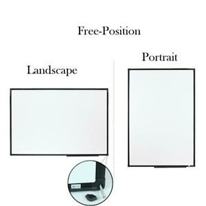 Lockways Magnetic Dry Erase Board Whiteboard 36 X 24 White 3 X 2
