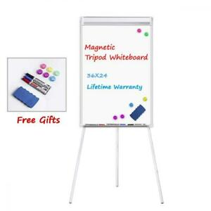 Easel White Board Weyoung Portable Dry Erase Board Magnetic Tripod
