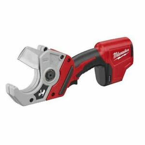 Milwaukee M12 Plastic Pipe Shear 2470 20 tool Only