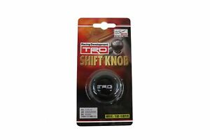 Toyota Genuine Accessories Ptr04 00000 06 Trd Leather Shift Knob