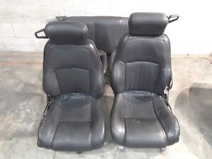 98 02 Trans Am Firebird Leather Seats Front Rear Seat Set Aa6420