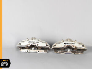 Mercedes W220 S55 Cl55 Cl65 Amg Front Brake Caliper Calipers Set Brembo Oem