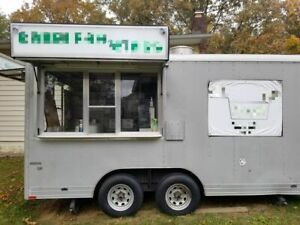 2008 8 X 22 Wells Cargo Used Food Concession Trailer For Sale In Ohio