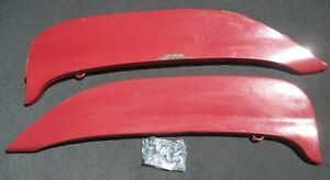 1963 Ford Fender Skirts Nice Factory Original Pair With Ford Script