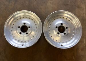 Centerline Wheels Rims 15x3 5 Front Runner Skinny Chevy Camaro Drag Race J15780