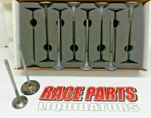 2 200 1 610 Titanium Valve Set Ro7 Chevy Race Nascar Del West Oval 042219 16