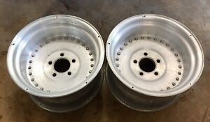 Chevy Gm Centerline Autodrag Wheels Rims 15x8 5 Camaro Nova Drag Race J15781