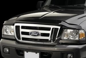 Bug Shield 2004 2011 Ford Ranger Bug Deflector Smoke Hood Bug Stone Wind Guard