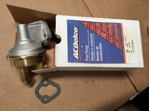 66 67 68 69 72 Corvette Gm Fuel Pump 40482 W large Ac Logo Delco 427 454 New