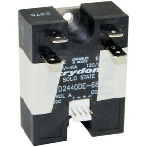 Turbochef Solid State Relay Dual 40 amp Ngc 3005 New Oem Part