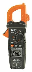 Klein Tools Cl800 Clamp Meter Digital Lcd 6000uf Trms