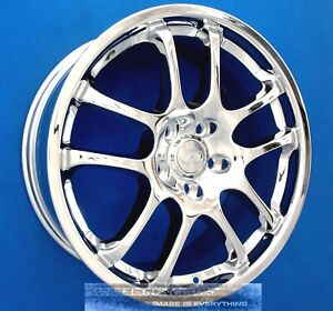 Set Of 4 Infiniti G35s Sport 19 Oem Chrome Wheels Rims Rays Forged 73683 73684