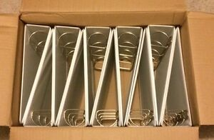 Lot Of 12 A4 European 2 D ring Clearview Binders For A4 Sheet Size